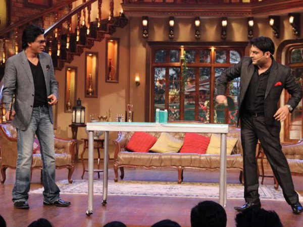 Shahrukh Khan And Kapil Sharma's Bromance On Twitter!