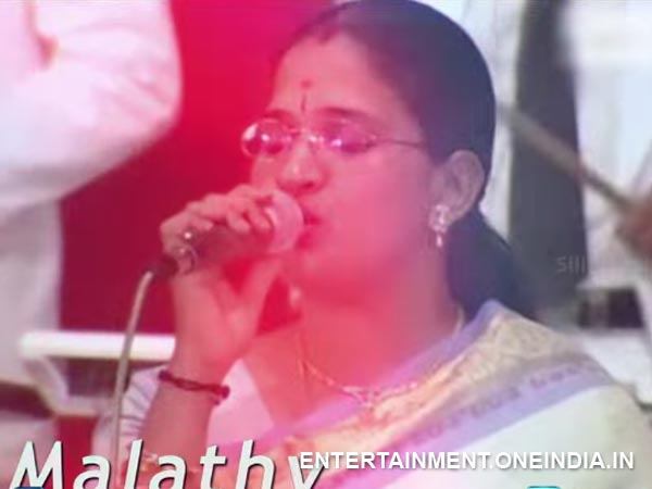 Malathy To Perform Live With DSP