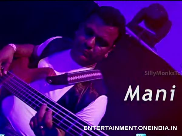 Mani In DSP's Live Concerts