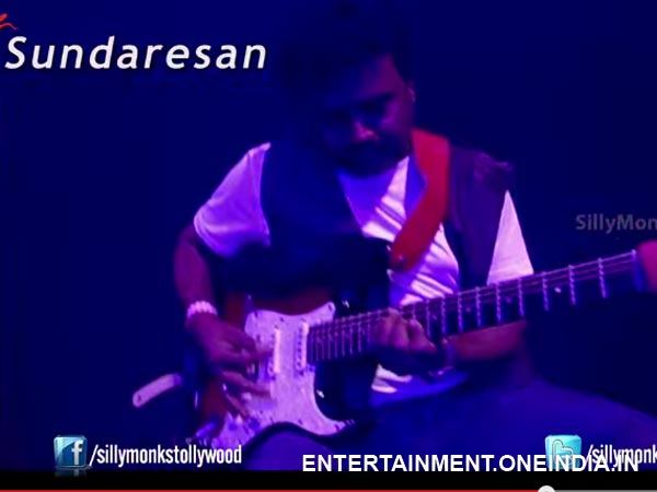 Sundersan In DSP's Live Concerts