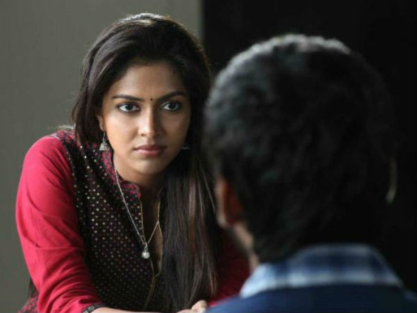 Amala Paul's Serious Look