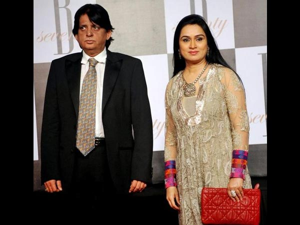 Padmini Kolhapure and Pradeep Sharma