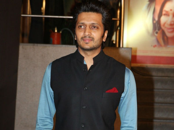 Ritesh Deshmuh played a negative role in Ek Villain