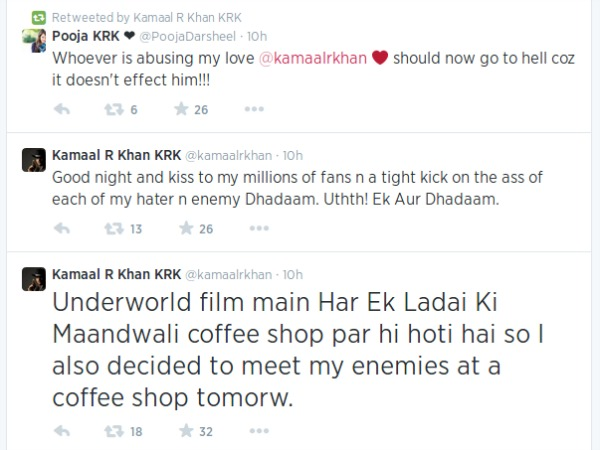 KRK Abused Kapil