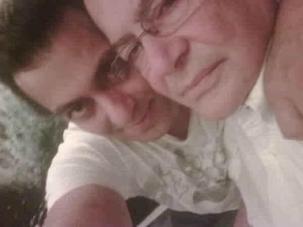Salman Khan With Papa