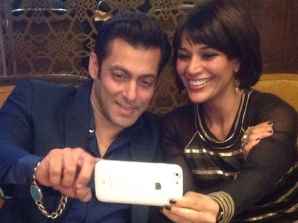 Salman With Koel Puri