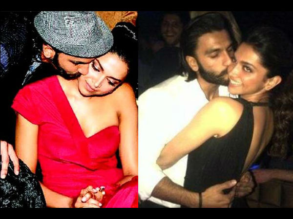 Ranveer Singh and Deepika's PDA moments