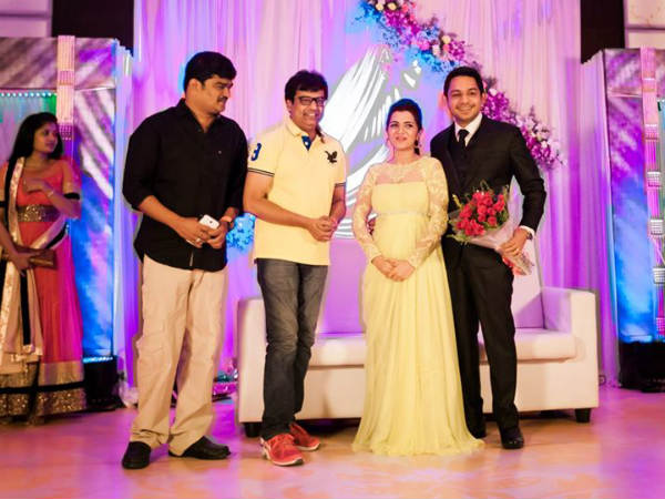 Vivek At Divyadarshini's Wedding Reception