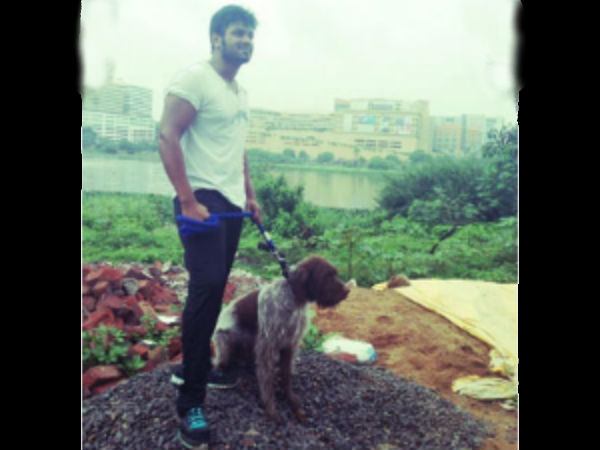Manchu Manoj's Pet Dog
