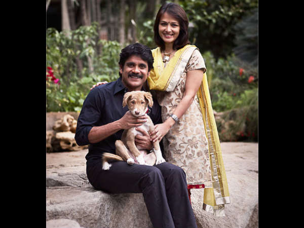 Nagarjuna's Pet Dog