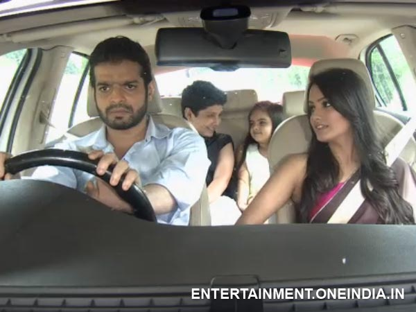 Raman And Shagun Leave For The Outing