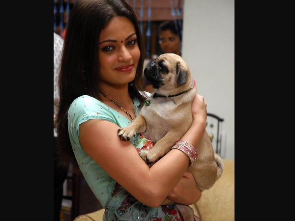 Sneha Ullal's Pet Dog