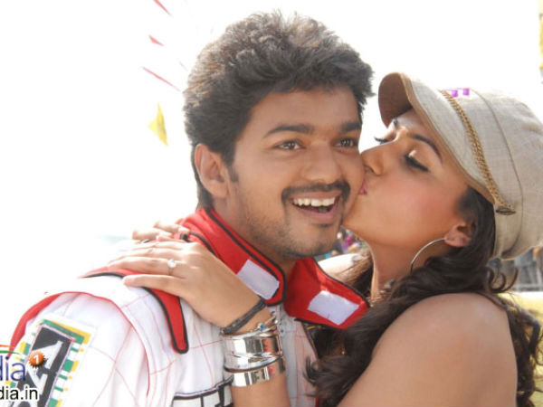 Trisha With Vijay