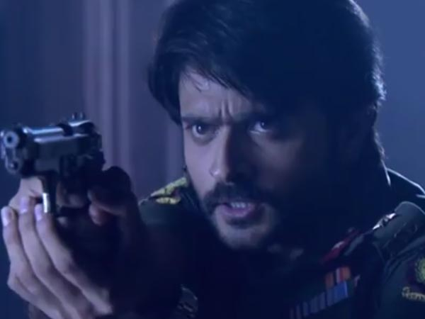 Rudra Rushes To Home