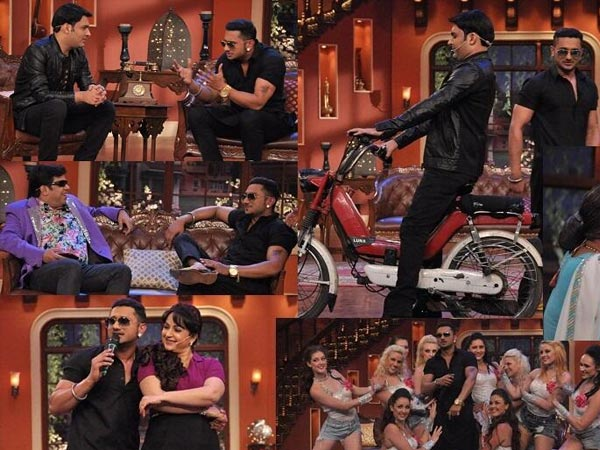 In Pics: How Comedy Night With Kapil Went Yo For Honey Singh!