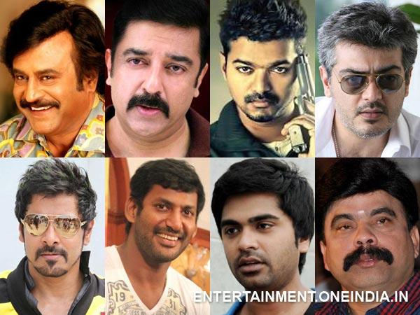 Pet Names Of Tamil Actors - Filmibeat