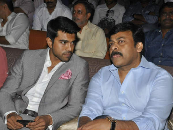 Ram Charan To Select Script For Chiru