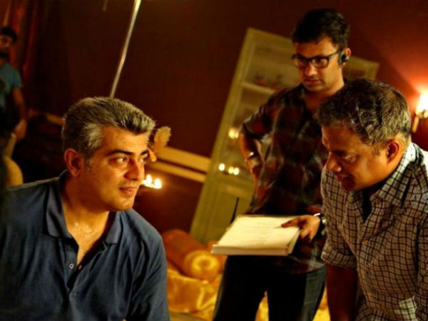 Ajith In Discussion With Gautham Menon