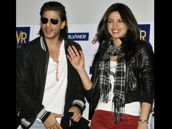 Shahrukh Khan With Priyanka Chopra