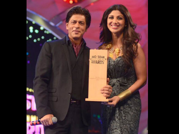 Shahrukh Khan With Shilpa Shetty
