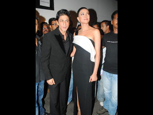 Shahrukh Khan With Sushmita Sen