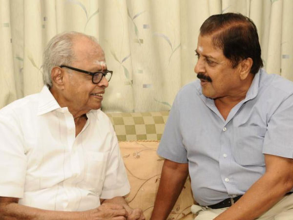 K Balachander With Sivakumar