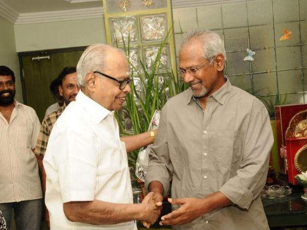 Mani Ratnam Wishes K Balachander