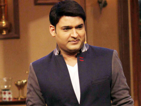 Kapil being picky with the script