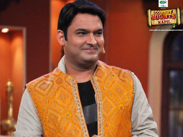 Kapil Being Busy