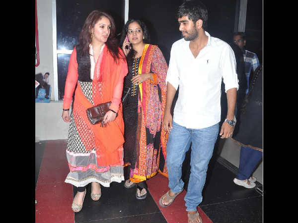 Abhiram Bonding With Sridevi