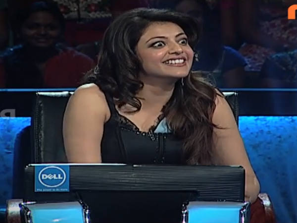 Kajal On Hot Seat