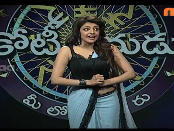 Kajal Mimicks Nagarjuna On MEK