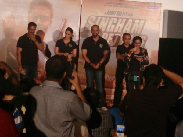 Singham Returns Trailer Launch Event