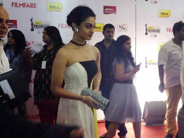 Aishwarya Arjun At 61st Filmfare Awards