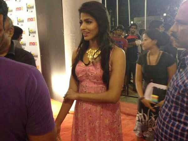 Dhansika At 61st Filmfare Awards South