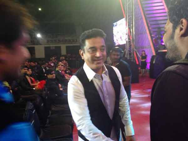 Kamal Hassan At Filmfare Awards South (2014)