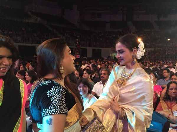 Khushboo With Rekha