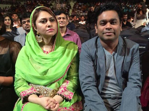 AR Rahman With His Wife
