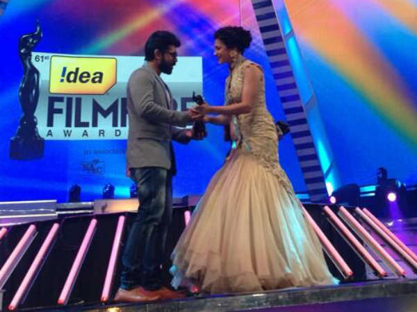Best Debut Actor Filmfare Award