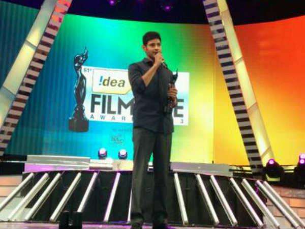 Best Telugu Actor Filmfare Award