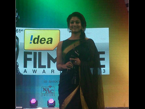Best Tamil Actress Filmfare Award