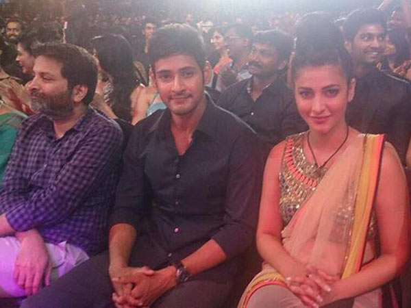 Mahesh Babu With Shruti Hassan