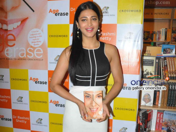 Shruti Hassan Posing For The Camera