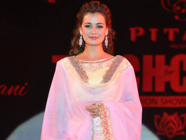 Dia Mirza At Teach For Change Fashion Show