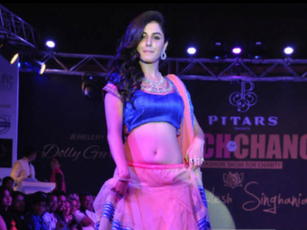 Isha Talwar At Teach For Change Fashion Show