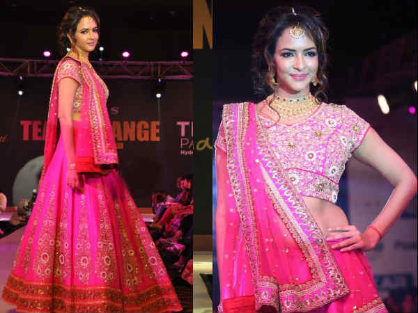 Lakshmi Manchu At Teach For Change Fashion Show
