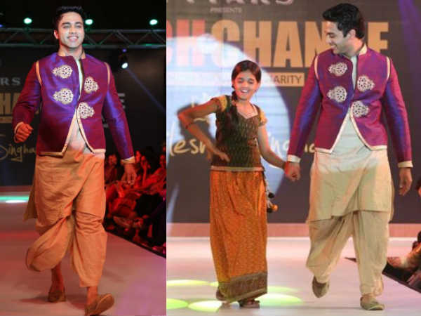 Navdeep At Teach For Change Fashion Show