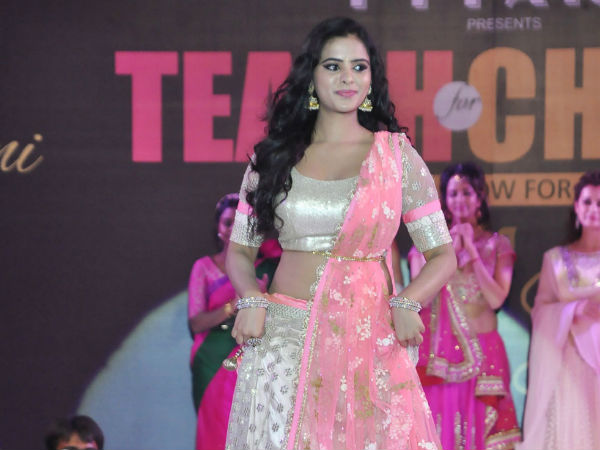 Pia Bajpai At Teach For Change Fashion Show