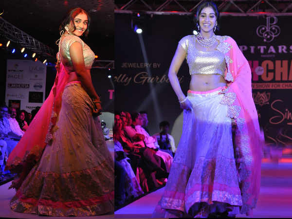 Regina Cassandra At Teach For Change Fashion Show