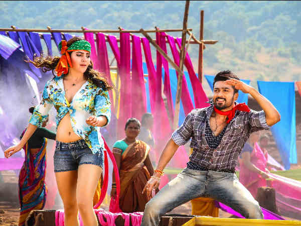 Samantha As Surya's Love Interest